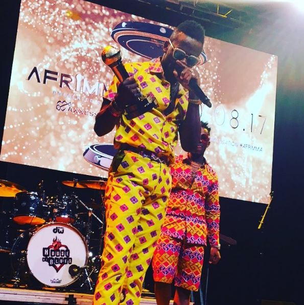 Photo of RAYVANNY and Diamond Platnumz – Live Performance at Afrimma Awards Dallas Texas U.S.A