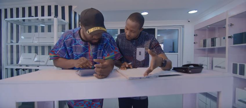 Photo of New VIDEO:  Faze ft Harrysong – Business Man