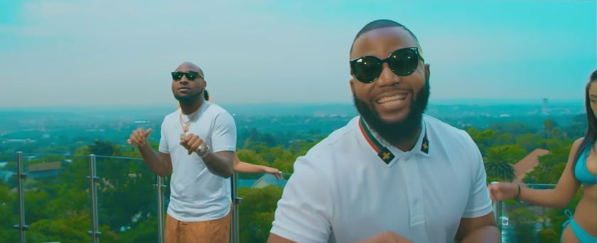 Photo of New VIDEO: Cassper Nyovest ft Davido – Check On You