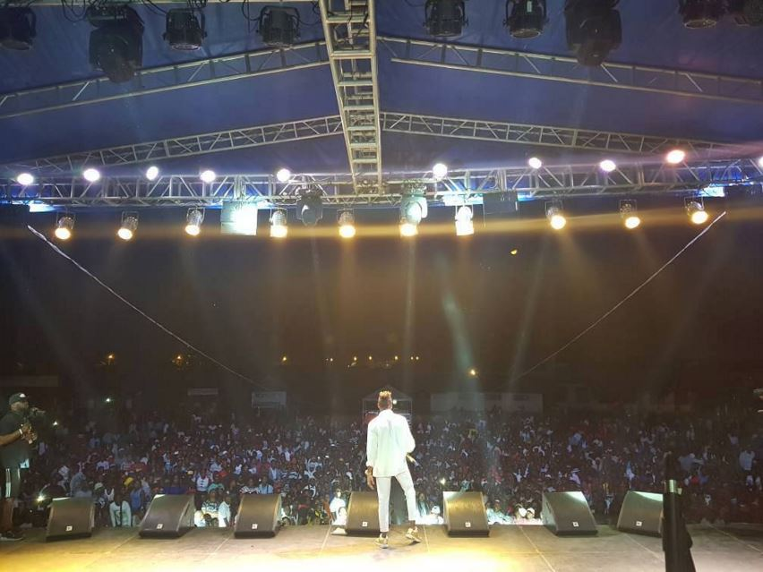 Photo of Diamond Platnumz – Live Performance at Goma / Congo (part 1)