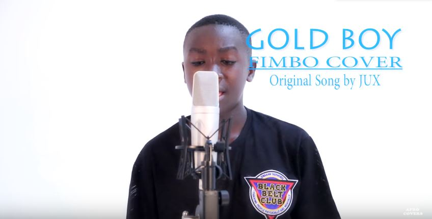 Photo of New VIDEO: Jux – Fimbo Cover by Gold Boy