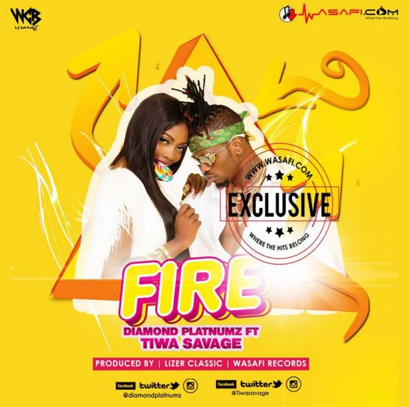 Photo of Audio | Diamond Platnumz ft Tiwa Savage – Fire | Mp3 Download