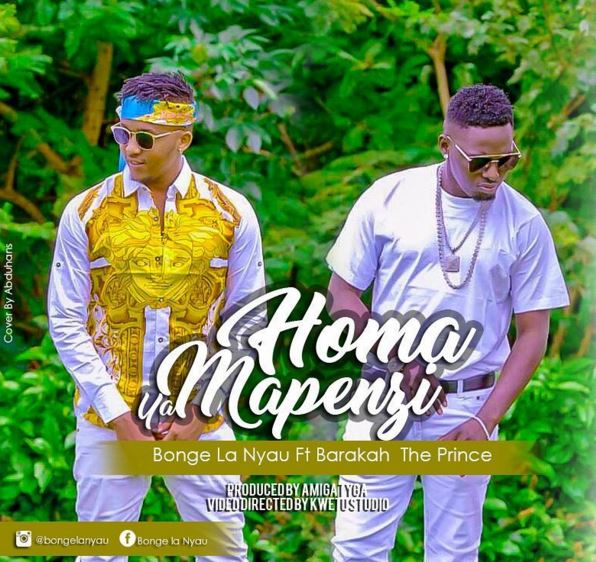 Photo of Audio | Bonge La Nyau Ft. Baraka Da Prince – Homa Ya Mapenzi | Mp3 Download