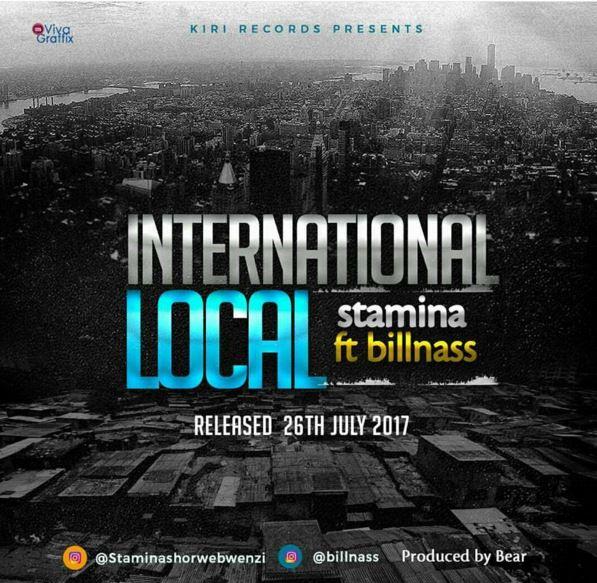 Photo of Audio   Stamina ft Billnass – International Local   Mp3 Download