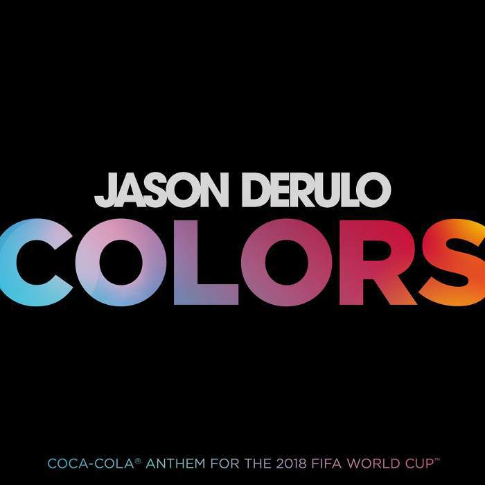 Photo of New AUDIO: Jason Derulo – Colors (Coca-Cola 2018 FIFA World Cup Anthem)