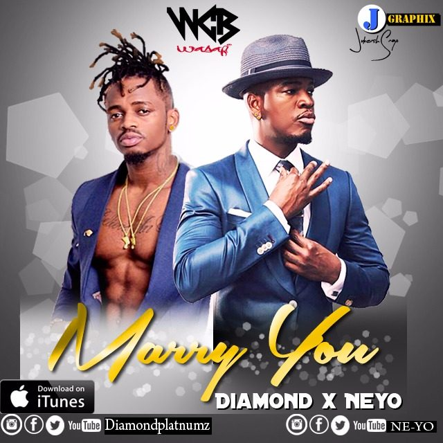 Photo of Audio | Diamond Platnumz Ft Ne Yo – Marry you (Chipmunk Version) | Mp3 Download