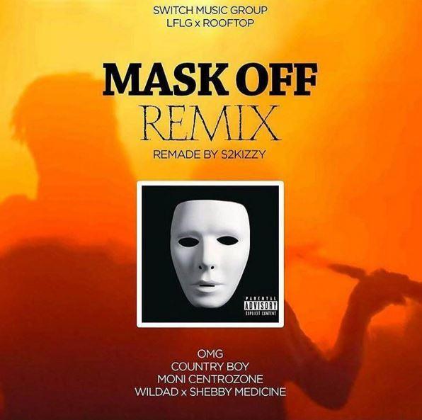Photo of Audio | OMG, COUNTRY BOY ,WILDAD ,MONI & MEDICINE – Mask OFF Remix | Mp3 Download