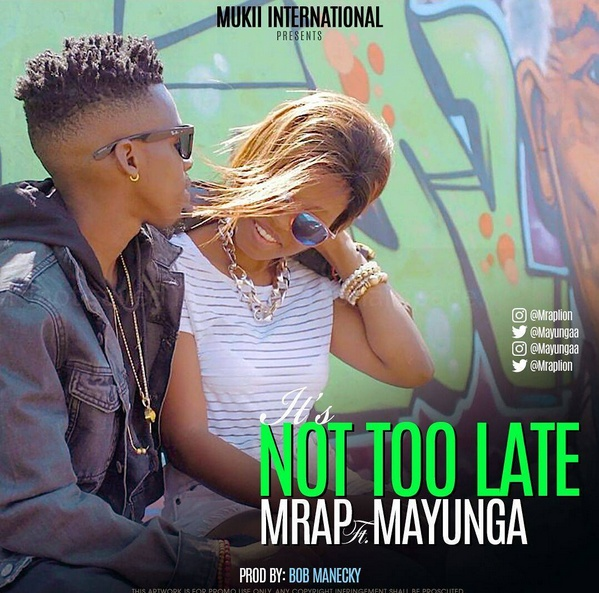 Photo of Audio | M Rap Lion ft. Mayunga – Ts Not Too Late | Mp3 Download