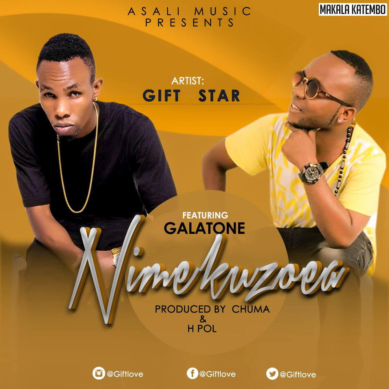 Photo of Audio |  Gift Star Ft. Galatone – Nimekuzoea | Mp3 Download
