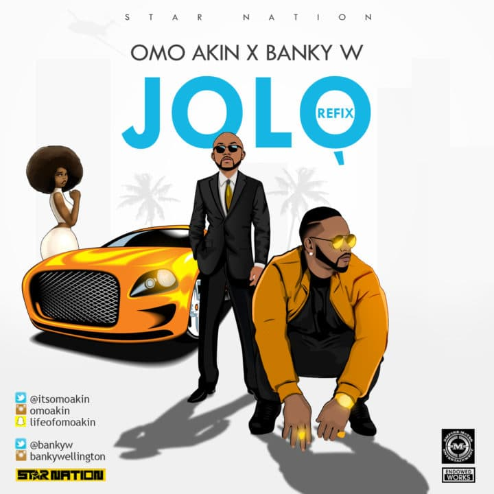 Photo of Audio | Omo Akin ft. Banky W – Jolo | Mp3 Download