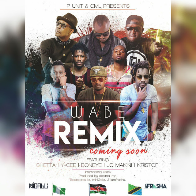 Photo of Audio | P Unit Ft. Ycee , Shetta , Joh Makini & Kristof – Wabe (Remix) | Mp3 Download