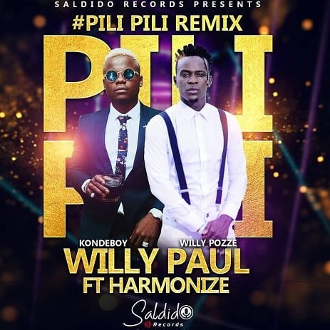 Photo of New AUDIO | Willy Paul ft Harmonize – Pili Pili Remix  | DOWNLOAD