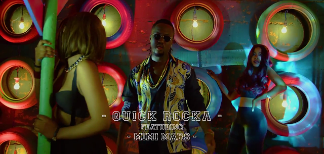 Photo of Quick Rocka Ft. Mimi Mars (Video) – Down | Mp4 Download