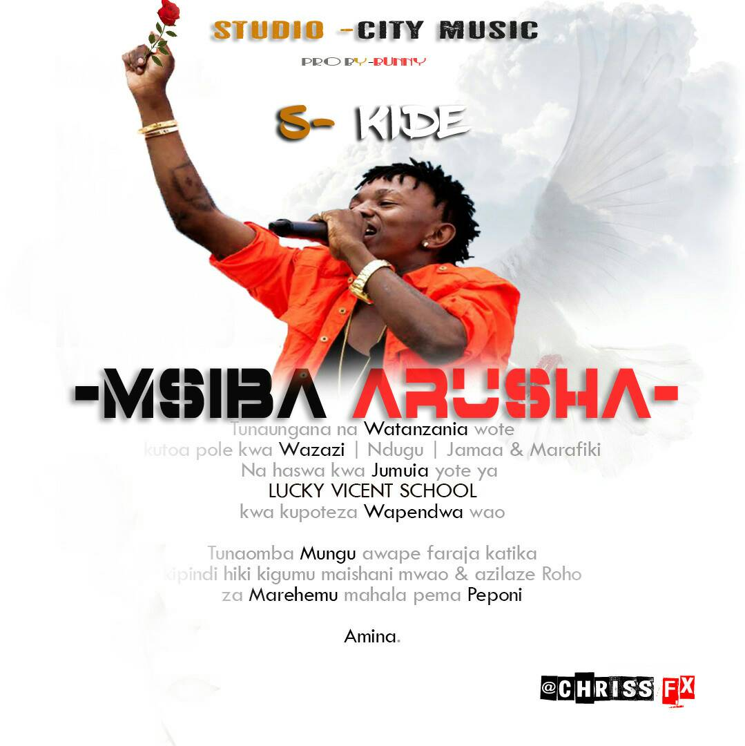 Photo of Audio | S Kide – Tunawapa Pole(Msiba Arusha) | Mp3 Download