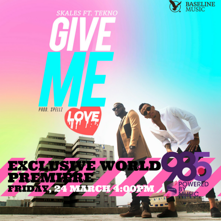 Photo of Audio | Skales ft Tekno – Give Me Love | Mp3 Download