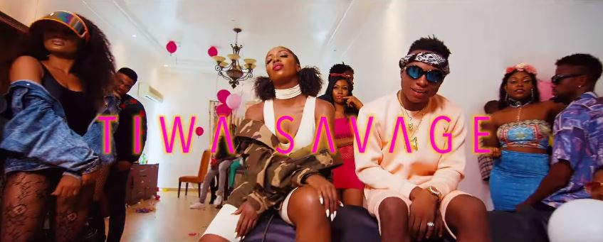Photo of New VIDEO: DJ Kaywise ft. Tiwa Savage – Informate