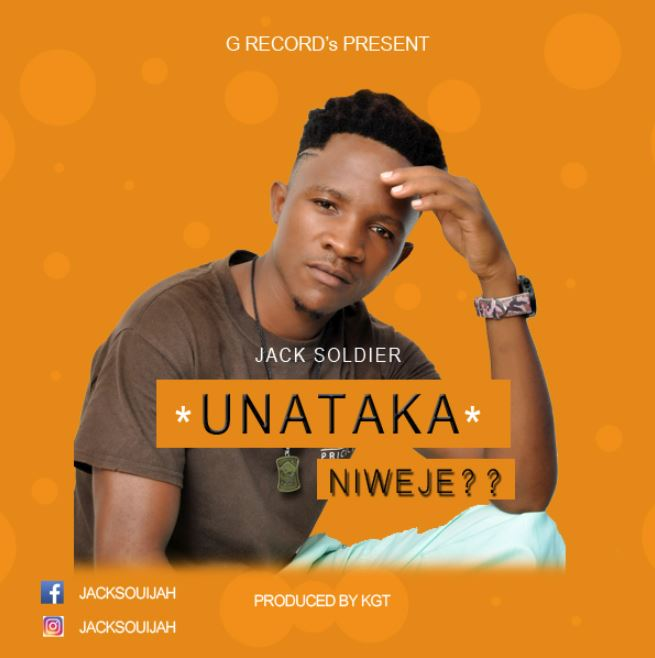 Photo of New AUDIO: Jack Soldier – Unataka Niweje | Download