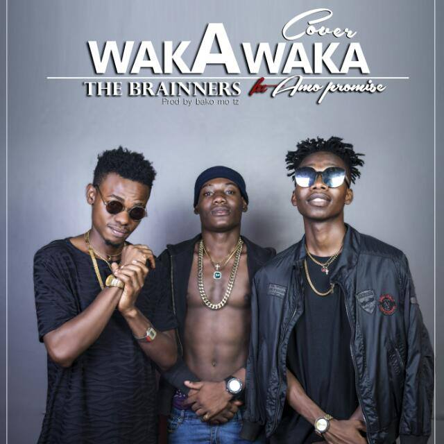 Photo of Audio | The Brainners Ft. Amo Promise – Waka (Remix) | Mp3 Download