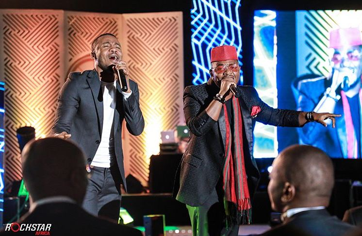 "Photo of ALIKIBA at the Safaricom ""GEM"" Awards in Nairobi, Kenya"