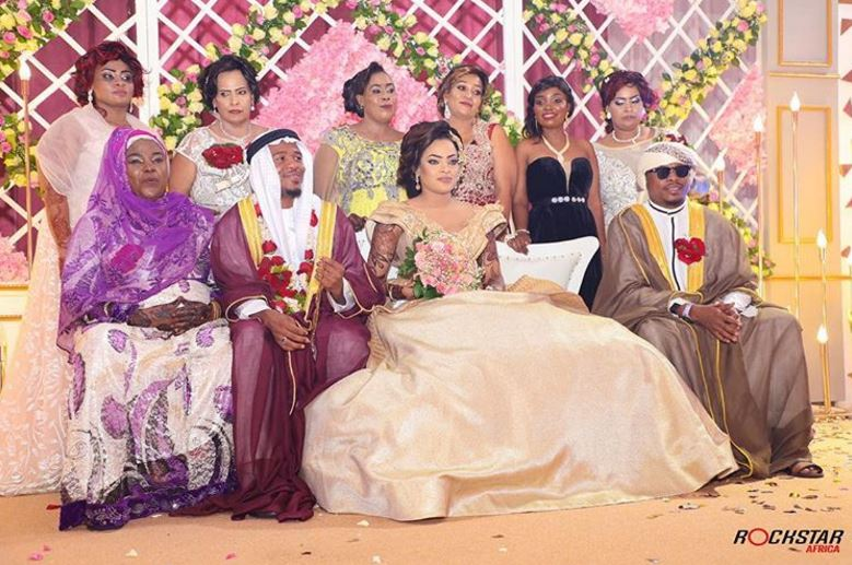 Photo of Alikiba and Amina's Wedding at Mombasa, Kenya