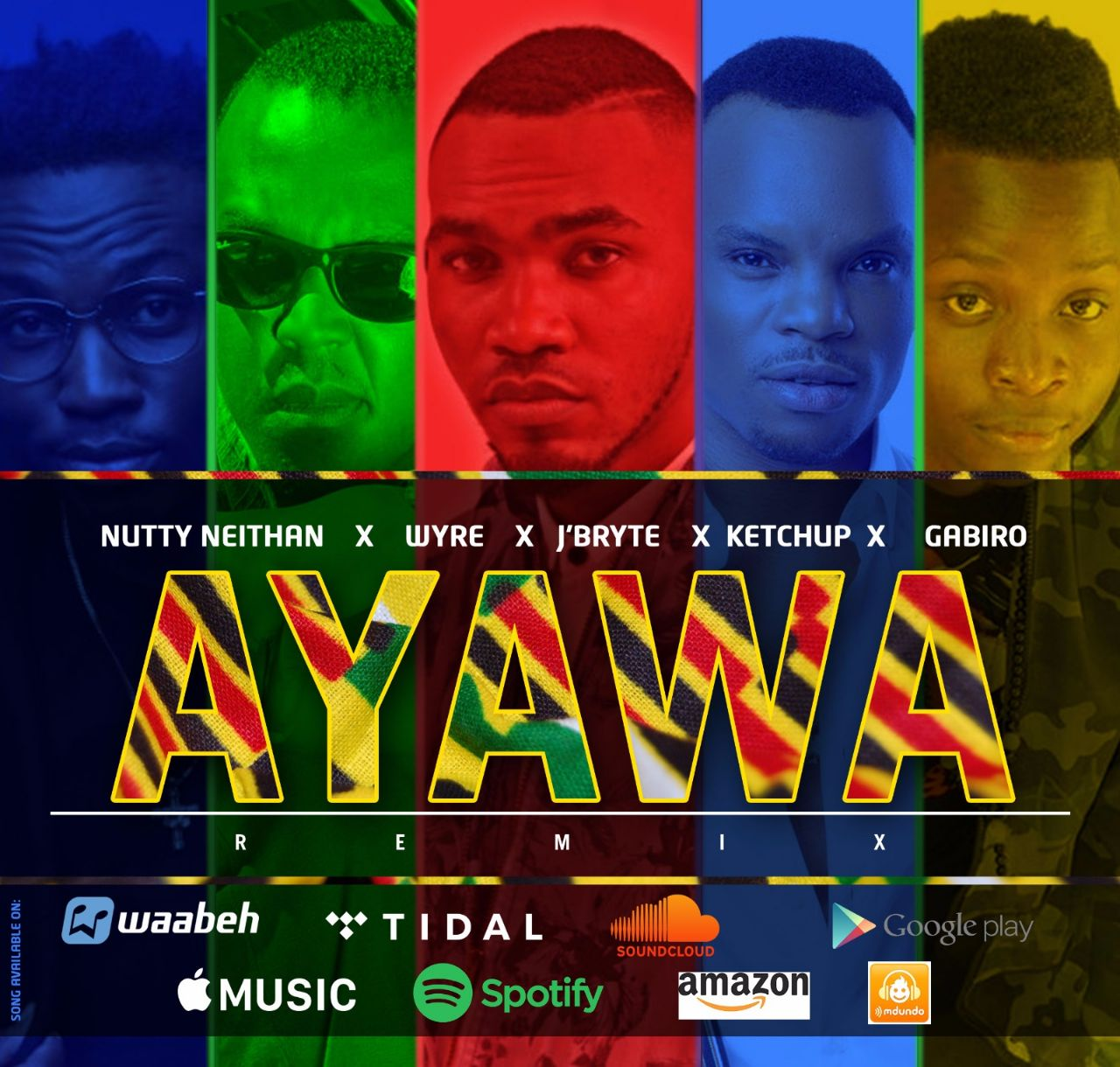Photo of Audio | Nutty Neithan X Wyre X J'bryte X Ketchup X Gabiro – AYAWA Remix | Mp3 Download