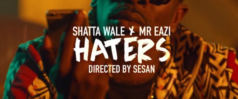 Photo of New VIDEO: Shatta Wale Ft. Mr. Eazi – Haters