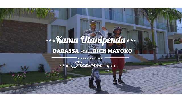 Photo of Darassa Ft. Rich Mavoko (Official Video) – Kama Utanipenda | Mp4 Download