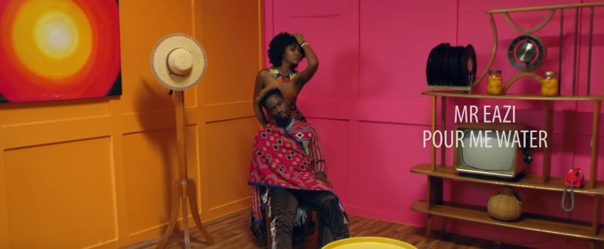 Photo of New VIDEO: Mr Eazi – Pour Me Water