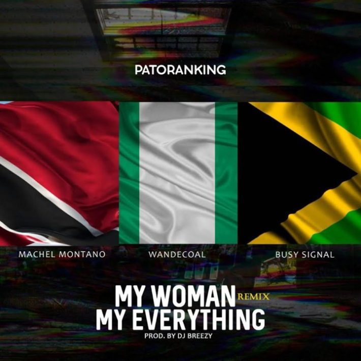 Photo of Audio | Patoranking ft Wande Coal & Busy Signal – My Woman My Everything (Remix) | Mp3 Download