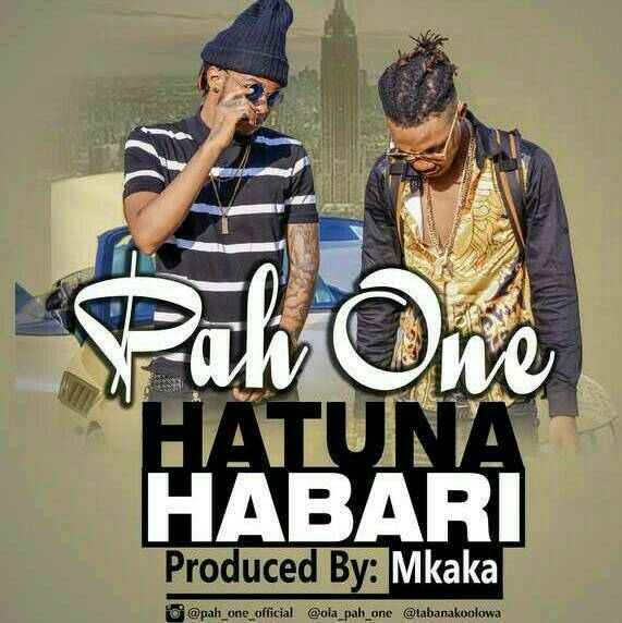 Photo of New VIDEO: Pah One – Hatuna Habari