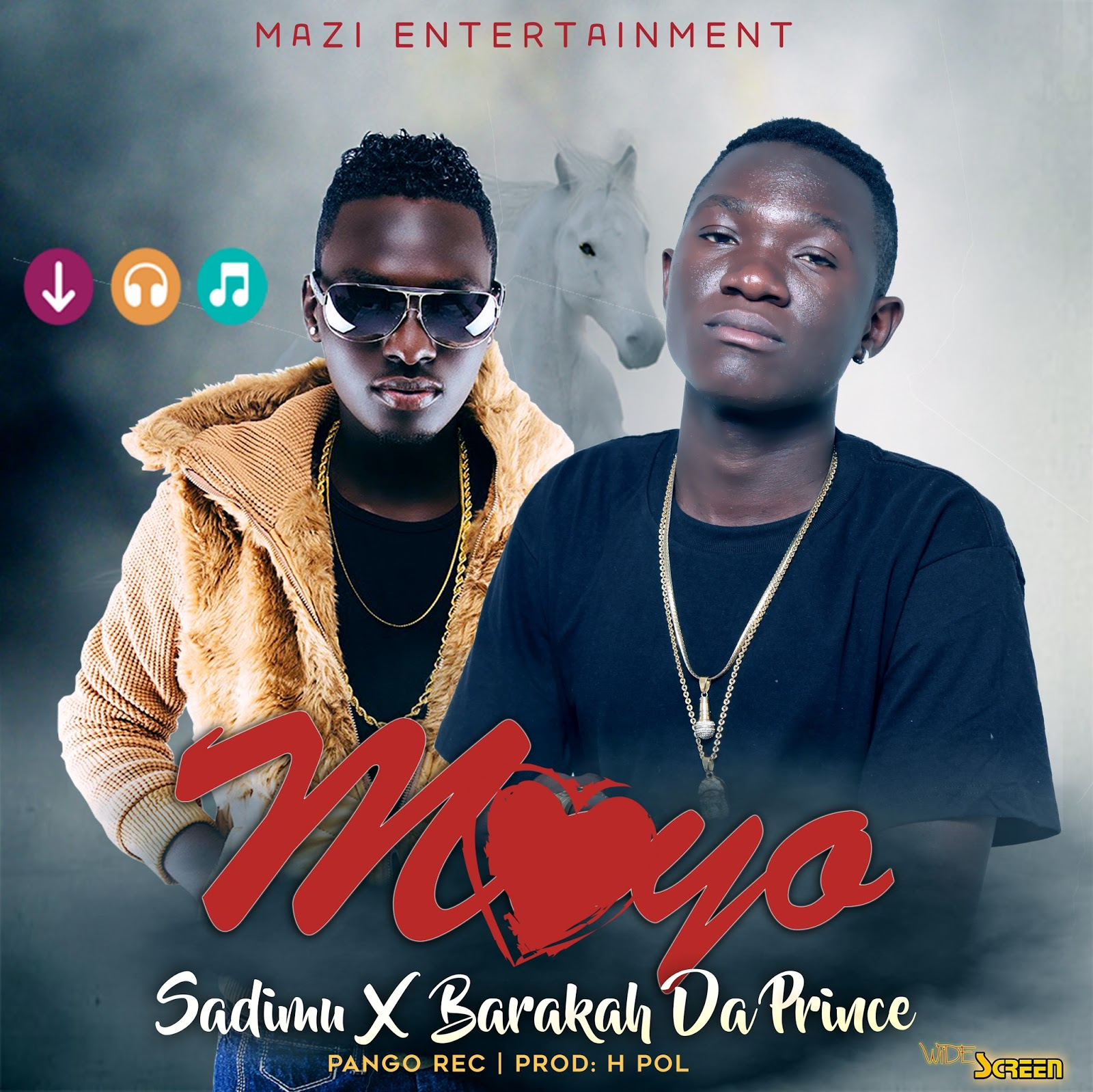 Photo of Audio | Sadimu Ft. Baraka Da Prince – Moyo | Download Mp3