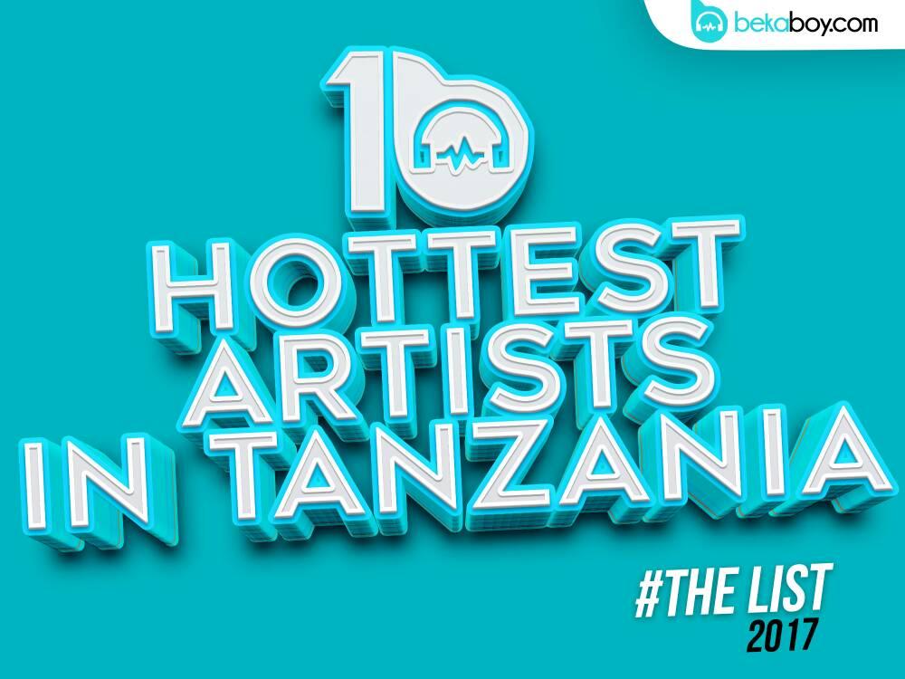 Photo of TOP 10 Hottest Artists in Tanzania 2017 (Wasanii 10 waliofanya vizuri 2017)