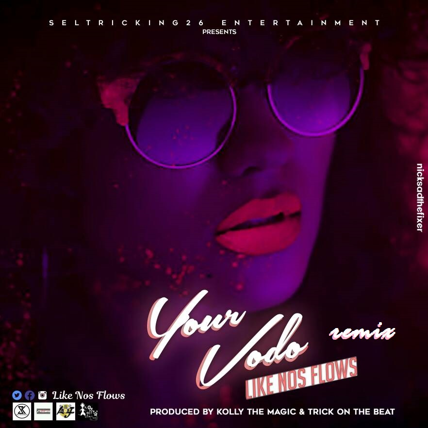 Photo of Audio | Like Nos Flows – Your Vodo Remix | Mp3 Download
