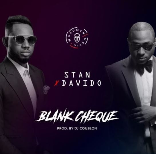Photo of New AUDIO: Stan X Davido – Blank Cheque