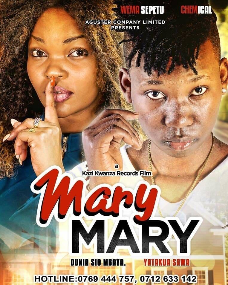Photo of New MOVIE: Mary Mary by Chemical & Wema Sepetu | Episode 1,2 & 3