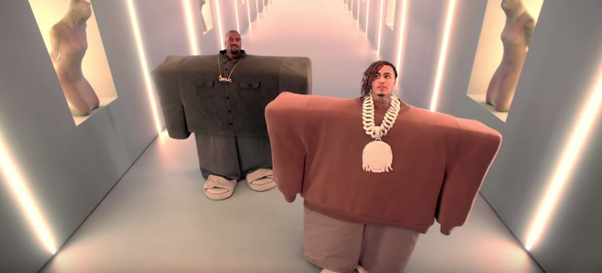 Photo of New VIDEO: Kanye West & Lil Pump – I Love It