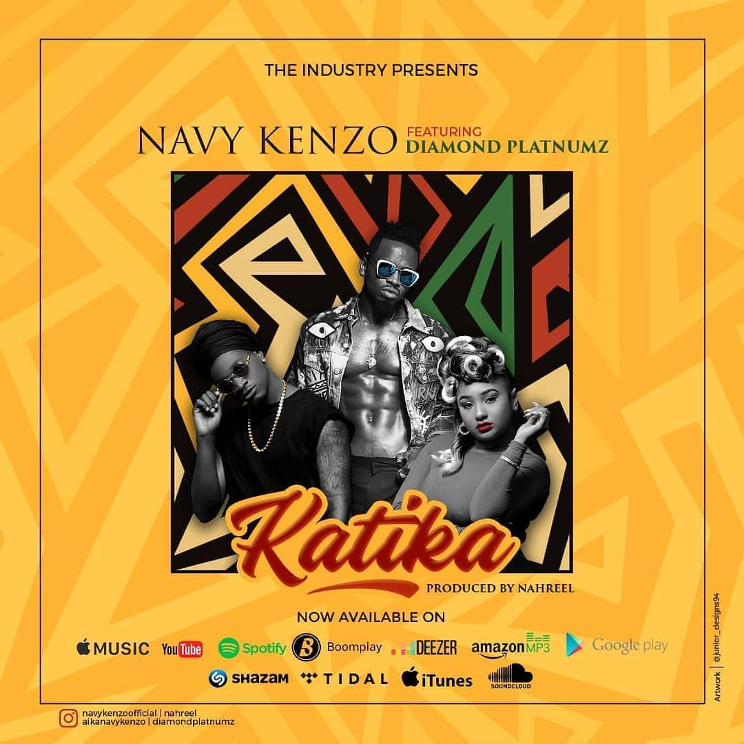 Photo of New AUDIO |  Navy Kenzo Ft. Diamond Platnumz – Katika | DOWNLOAD