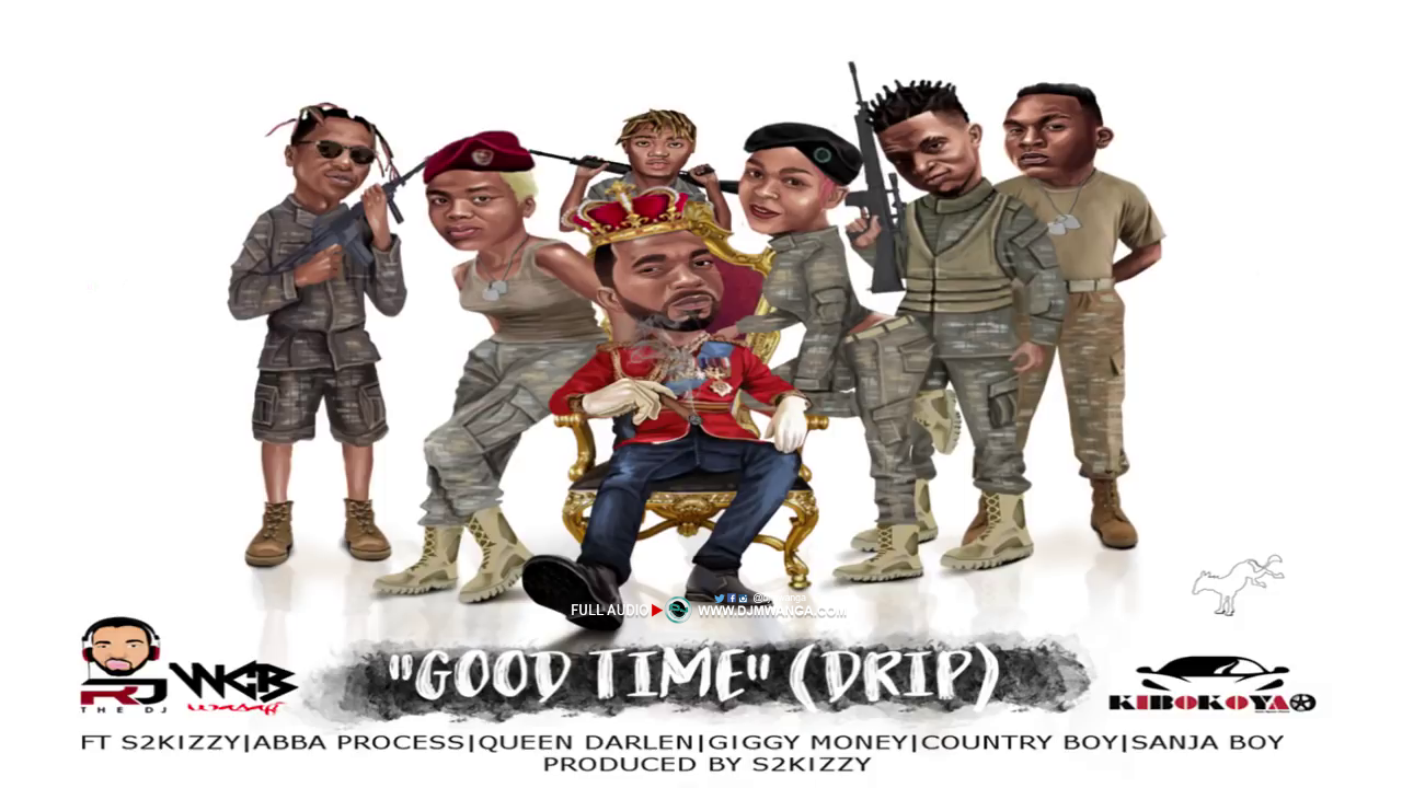 Photo of New AUDIO | Rj The Dj – Ft. Abba, Country Boy, Giggy Money, Sanja Boy & Queen Darleen – Good Time Drip | DOWNLOAD