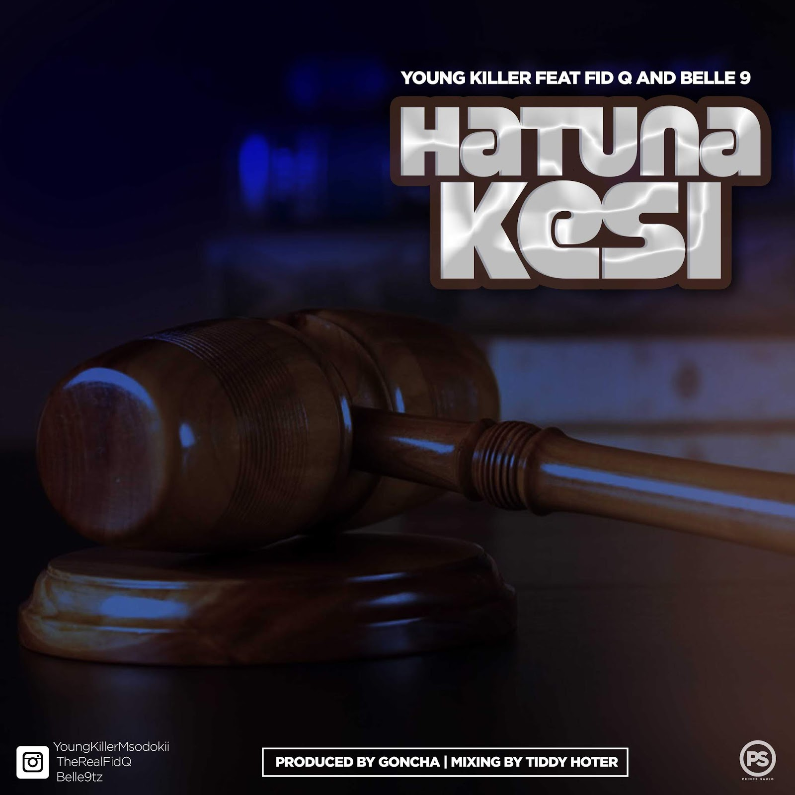 Photo of New AUDIO: Young Killer Ft. Fid Q & Belle9 – Hatuna Kesi | DOWNLOAD