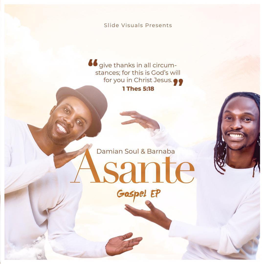 Photo of Full Album: Damian & Barnaba – ASANTE EP  | Download