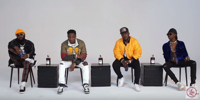 Photo of New VIDEO: M.I Abaga ft Blaqbonez, A-Q & Loose Kaynon – L.A.M.B Martell Cypher 2019
