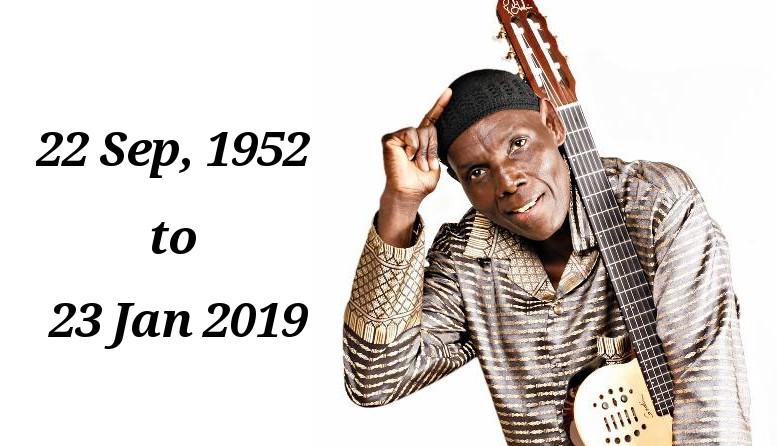 Photo of NEWS: Zimbabwean Music Legend Oliver Mtukudzi Dies