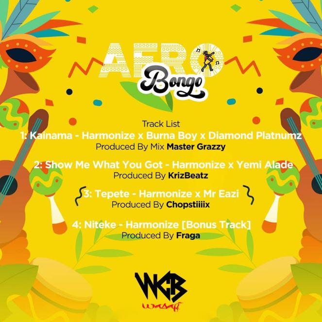 Photo of All EP Songs: Harmonize – Afro Bongo | Download