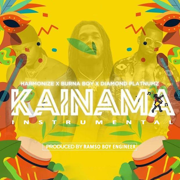 Photo of INSTRUMENTAL | Harmonize x Burna Boy x Diamond Platnumz – Kainama (BEAT) | DOWNLOAD