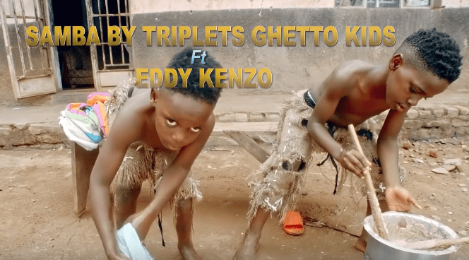 Photo of New VIDEO: Eddy Kenzo & ghetto kids – Sambagala