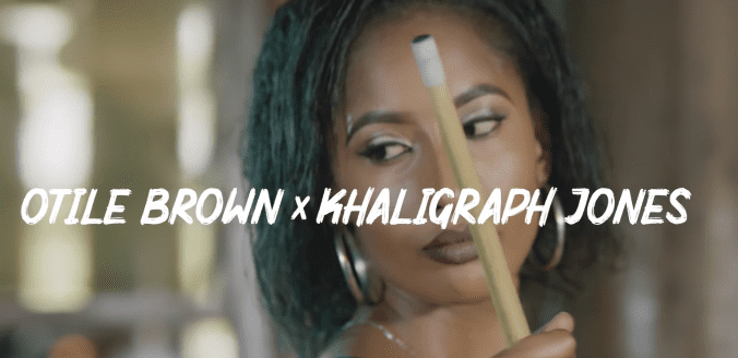 Photo of New VIDEO: OTILE BROWN X KHALIGRAPH JONE – JAPO KIDOGO