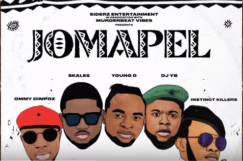 Photo of New AUDIO: YOUNG D X SKALES X OMMY DIMPOZ X DJ YB X INSTINC KILLERS – JOMAPEL | DOWNLOAD