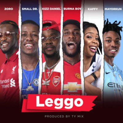 Photo of New AUDIO: Burna Boy x Kizz Daniel x Mayorkun x Small Doctor – Leggo