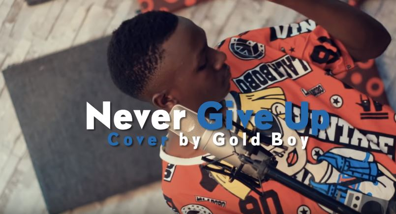 Photo of New VIDEO: Harmonize – Never Give Up | Cover by Gold Boy