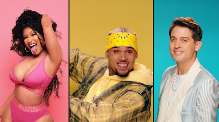 Photo of New VIDEO: Chris Brown ft. Nicki Minaj, G-Eazy – Wobble Up